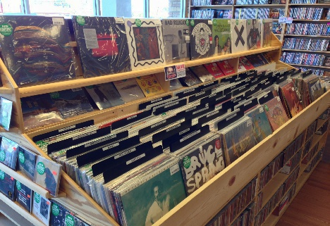 AFK Books & Records Vinyl Record Store Virginia Beach Buy Vinyl Sell